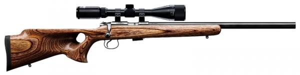 Carabine 22LR CZ 455 Varmint THUMBHOLE Filet� avec lunette HAWKE Varmint 4-16x44 Mildot