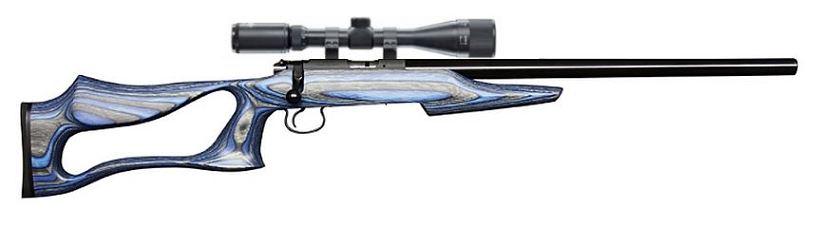 Carabine 22LR CZ 455 EVOLUTION avec lunette LYNX Varmint 6-24x42 AO