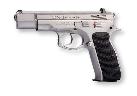 Pistolet CZ 75 B INOX Mat calibre 9x19