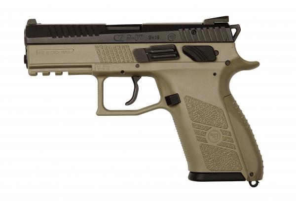 Pistolet CZ P-07 FDE calibre 9x19