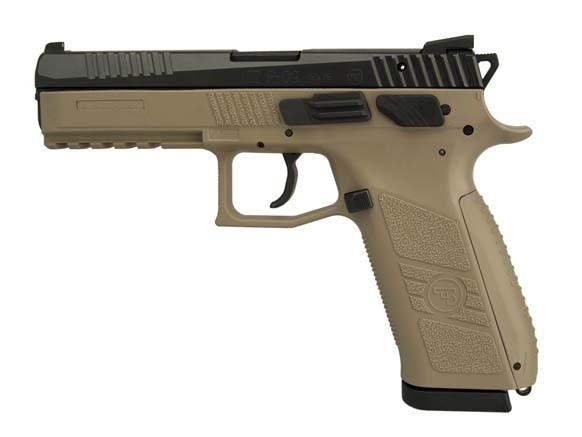 Pistolet CZ P-09 FDE calibre 9x19