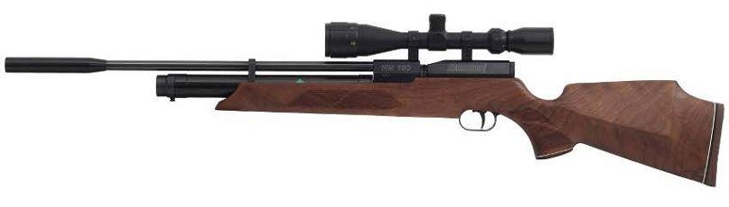 Carabine PCP WEIHRAUCH HW100 S (35 joules) cal.5,5mm ''lunette LYNX Varmint 6-24x42 AO''