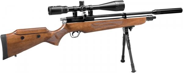 Carabine PCP COMETA Orion Bois cal.5,5mm (40 joules) Kit pompe - lunette 6-24x42