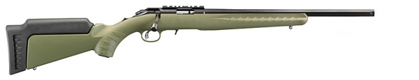 Carabine 22Lr RUGER American Rimfire Verte avec filetage