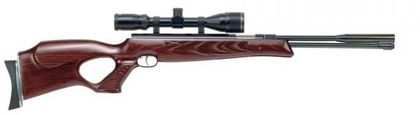 Carabine � air comprim� WEIHRAUCH HW 97KT  ''lunette BAUER 3-9x40''