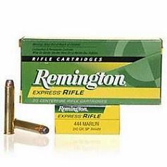 REMINGTON cal.444 Marlin SP 240 grains - 15.5 grammes