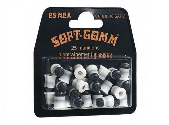 Cartouches SAPL SOFT GOMM cal.8,8x10
