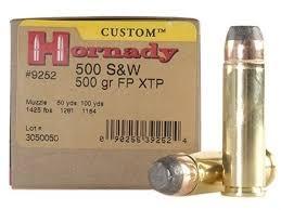 HORNADY cal.500 SW Magnum FP XTP 500gr