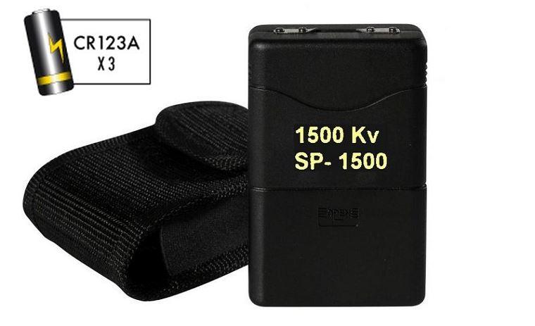 CHOCKER 1 500 000 Volts (avec 3 piles CR123 Gratuites)