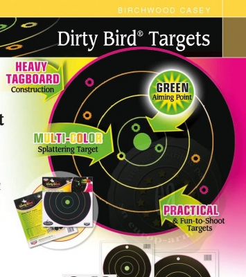 Cibles 20x20 Dirty Birds Multicolors (paquet de 20)