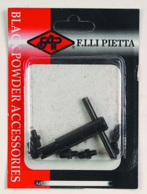 Clé à cheminée avec 6 cheminée pour Revolver Poudre Noire PIETTA