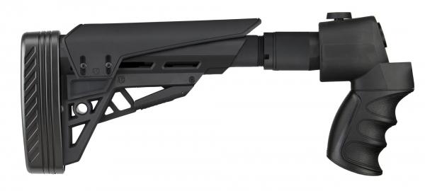 Crosse Tactique Rabattable ATI type M4 MOSSBERG 500 - REMINGTON 870 - WINCHESTER 1200 - REMINGTON 870