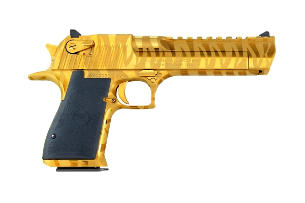 Pistolet DESERT EAGLE Titanuim Gold Tiger Stripes 6
