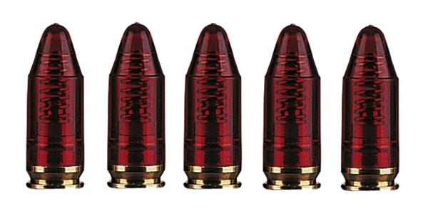 Blister de 5 douilles amortisseur cal.9x19 (.9mm PARA)