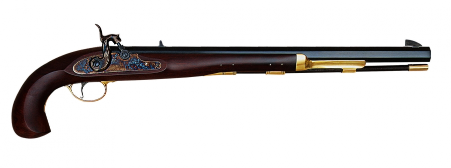Pistolet à poudre noire PEDERSOLI Bounty à percussion Cal.45