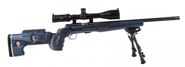 Carabine 22LR CZ 455 Varmint GRS avec lunette HAWKE Sidewinder 4-16x50 SR PRO