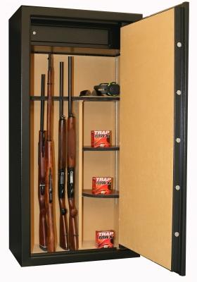 Coffre INFAC Executive 23 armes avec lunette - coffre int�rieur - �tag�res (165kg)