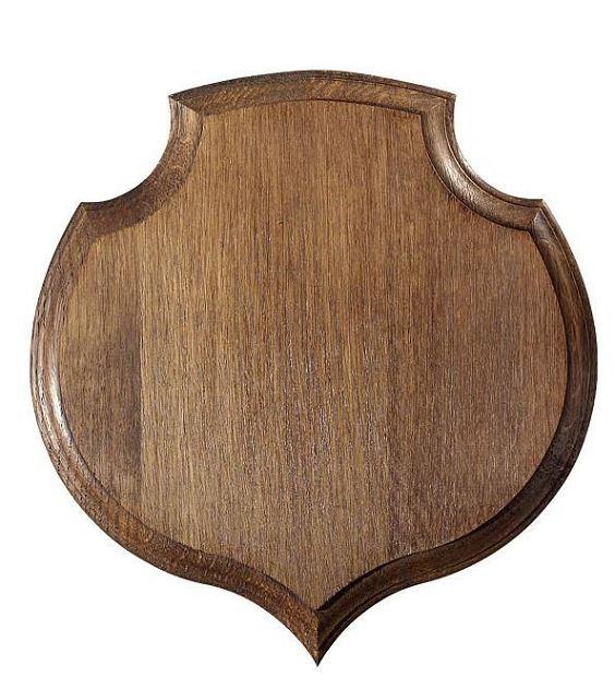 Ecusson Sanglier Coeur 18 x 19.5 cm