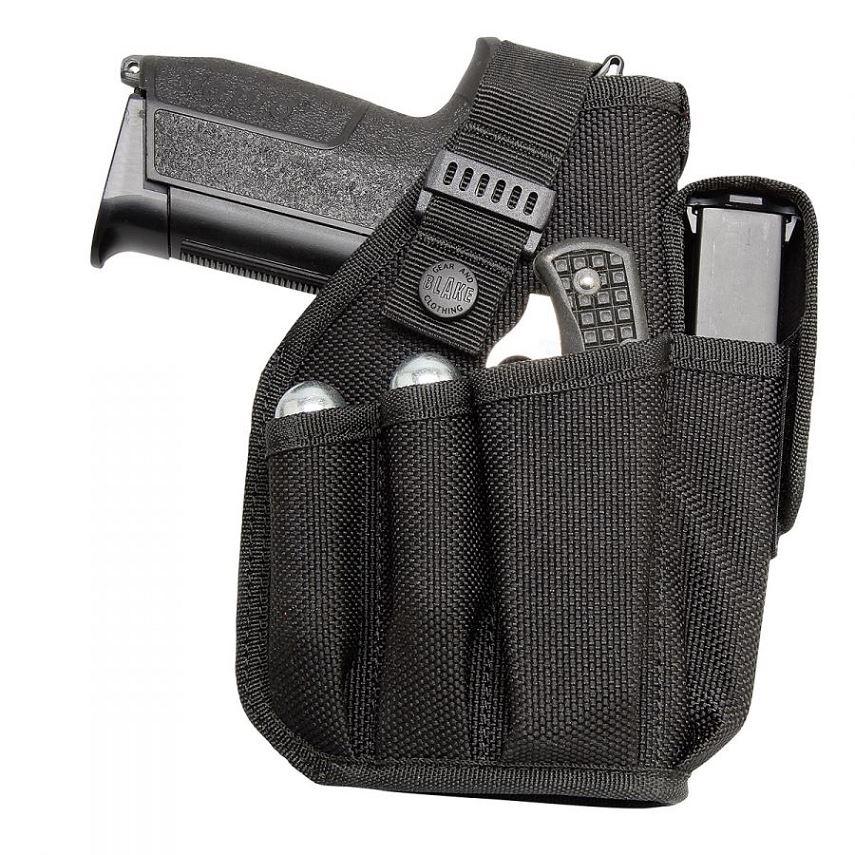 Etui Pistolet GK-BLAKE avec porte chargeur - Co2 -couteau