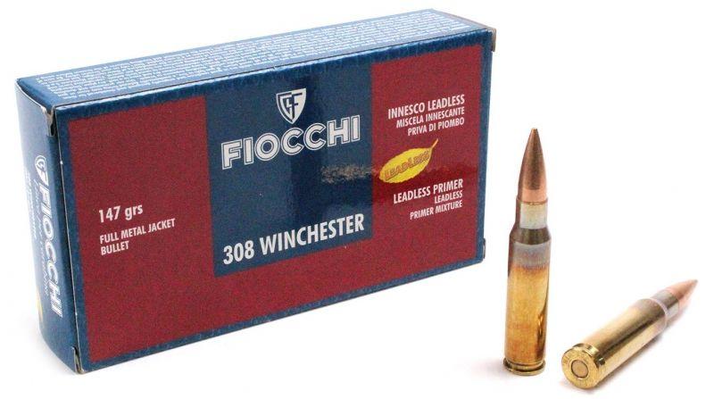 FIOCCHI cal.308 Win FMJ 147 gr /20