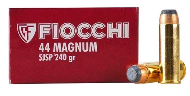 FIOCCHI cal.44 Rem MAGNUM SJSP