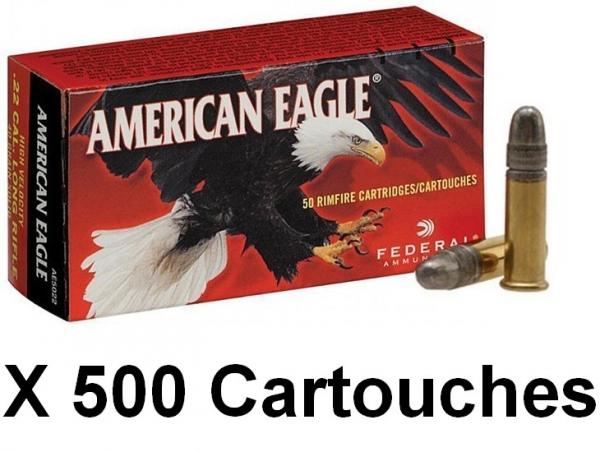 FEDERAL 22 Lr American Eagle /500
