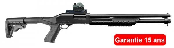 Fusil � pompe FABARM SDASS Tactical avec BUSHNELL TRS25 cal.12/76