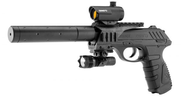 Pistolet PT 25 Tactical Blow Back GAMO cal.4,5mm