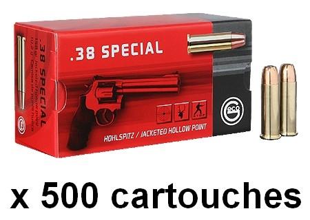 GECO cal.38 Spécial JHP Hollow Point /500 Cartouches