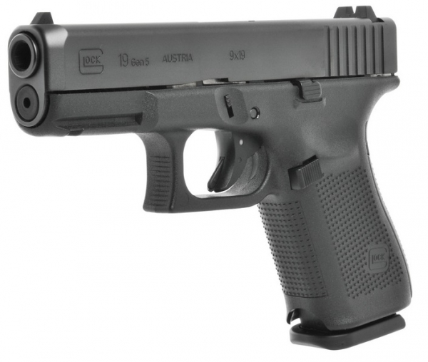 "Pistolet GLOCK 19 Gen5 cal.9x19 ""Tarif Police Municipale"""