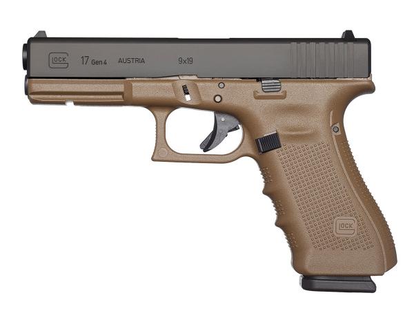Pistolet GLOCK 17 Gen4 FDE cal.9x19