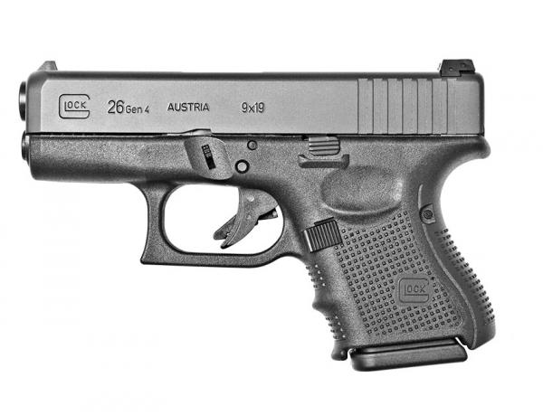 "Pistolet GLOCK 26 Gen4 cal.9x19 ""Tarif Force de l'Ordre"""