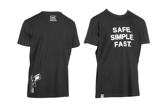 T-shirt Safe Simple Fast GLOCK Taille.XXL