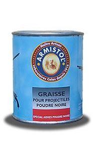 Graisse ARMISTOL lubrifiante spéciale pour projectiles à poudre noire