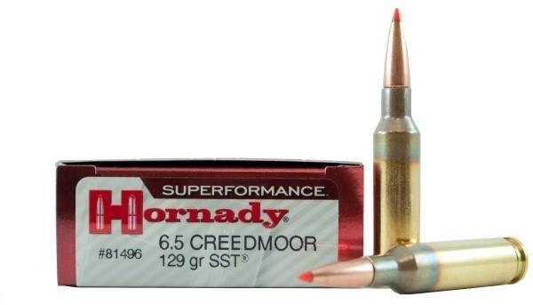 HORNADY cal.6,5 Creedmoor SST Superformance 129 grains - 8.4 grammes