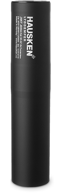 Silencieux HAUSKEN JD224 cal.308 win (7-8mm) Filetage M18x100