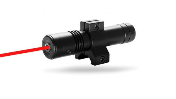 Laser tactique rouge HAWKE pour rail picatinny