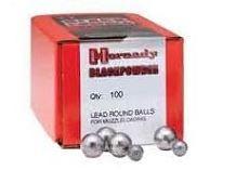 Sachet de 100 Balles HORNADY 375gr Cal.36
