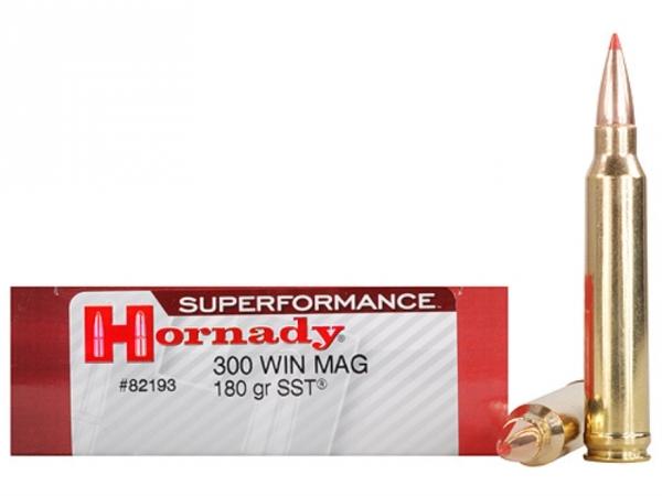 HORNADY cal.300 win 180 gr SST