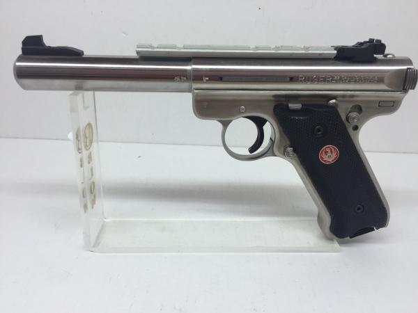 RUGER MARK III Target Inox 5 1/2