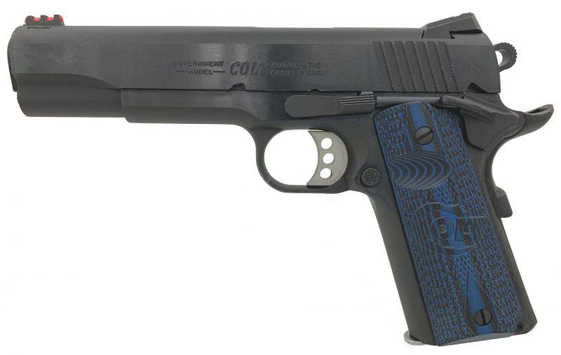 Pistolet COLT 1911 COMPETITION SERIES Bronzé Bleu cal.45 ACP