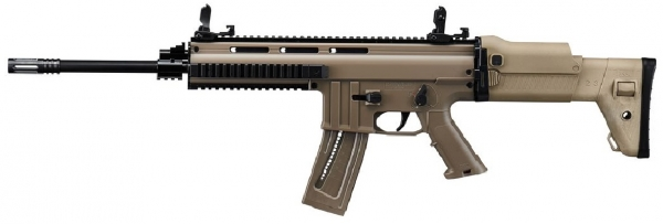"Carabine semi-automatique ISSC MSR MK22 16.8"" Desert cal.22 Lr"