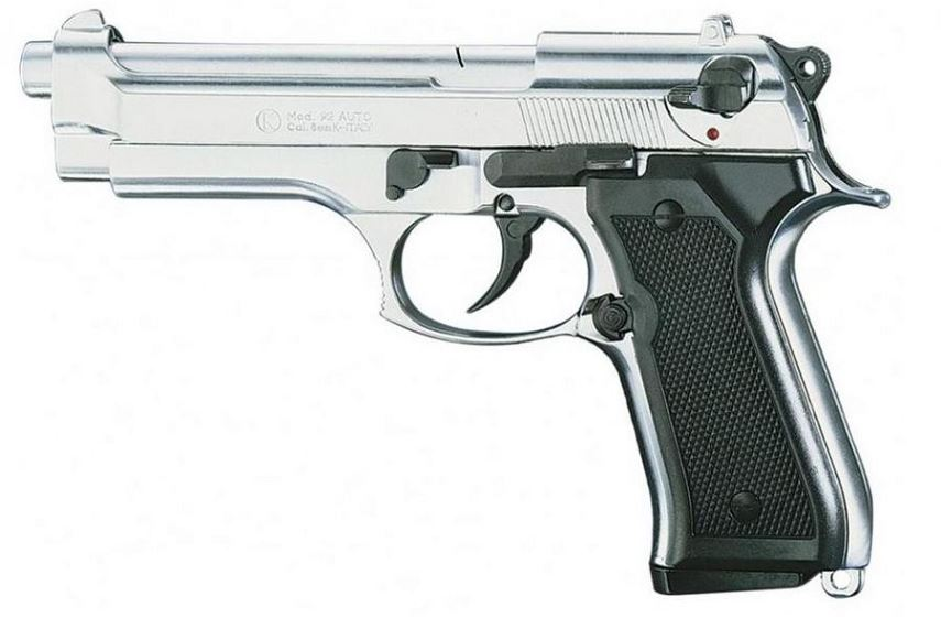 Pistolet KIMAR 92 Auto Nickel� Cal.9mm PA