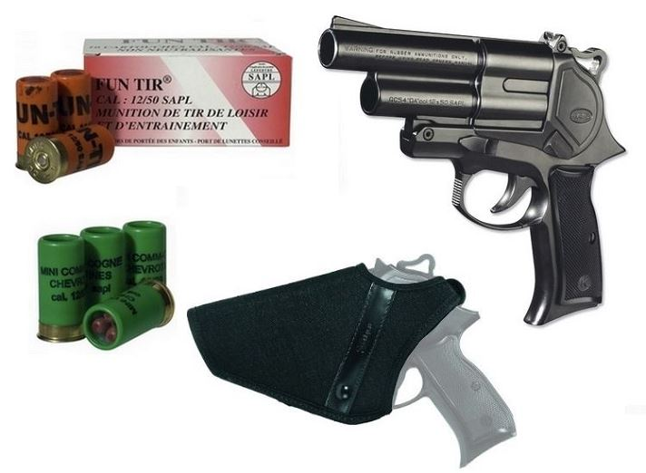 ''KIT'' Pistolet Gomm-Cogne GC 54 Double Action SAPL