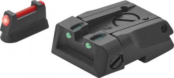 Hausse r�glable et guidon Fibre Optique LPA CZ SP01 SHADOW