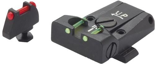 Hausse et guidon Fibre Optique LPA GLOCK 17 � 34