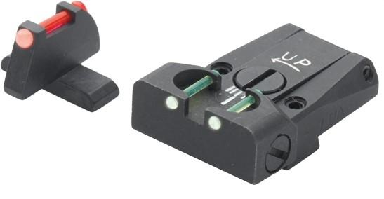 Hausse et guidon Fibre Optique LPA SIG SAUER P220 - 225 - 226 - 228