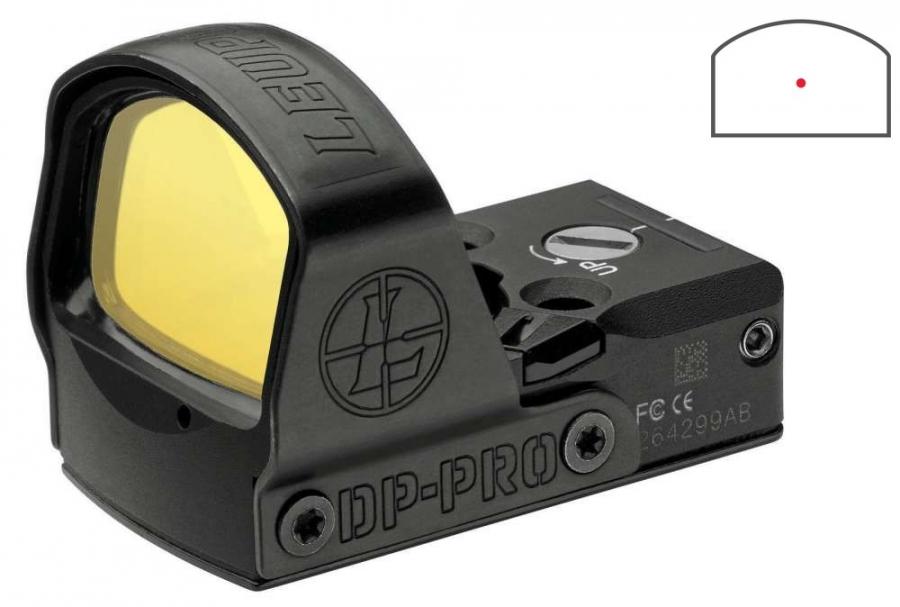 Viseur LEUPOLD DeltaPoint Pro 2.5MOA Dot