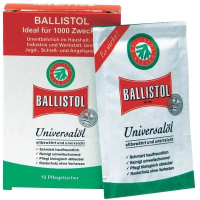 Lingette d'huille universelle BALLISTOL (Boite de 10)