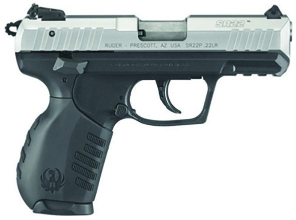 Pistolet RUGER SR22 INOX 3.5